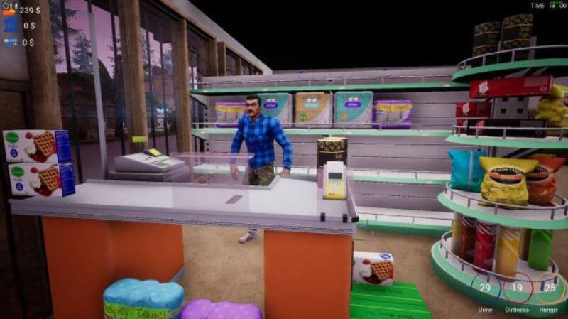 تحميل لعبة محاكي السوبر ماركت trader life simulator